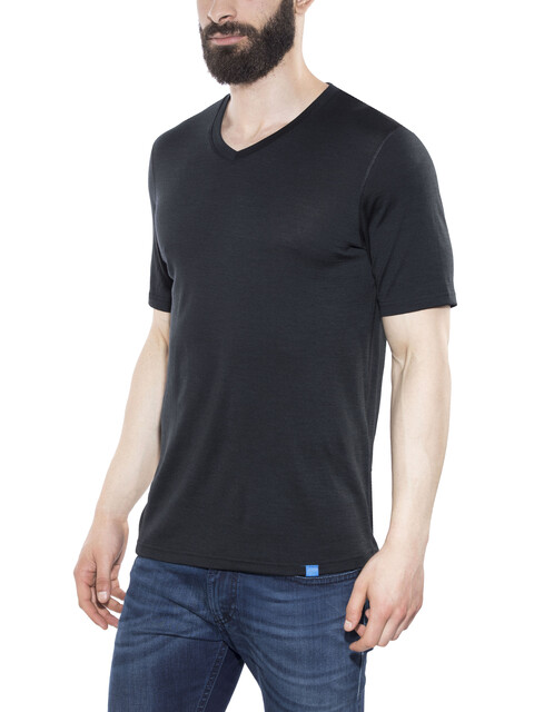 Bergans Bloom Wool Tee Men  Black